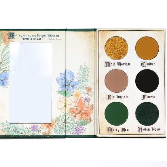 STORY BOOK COSMETICS Other - STORYBOOK COSMETICS- ROBIN HOOD PALETTE